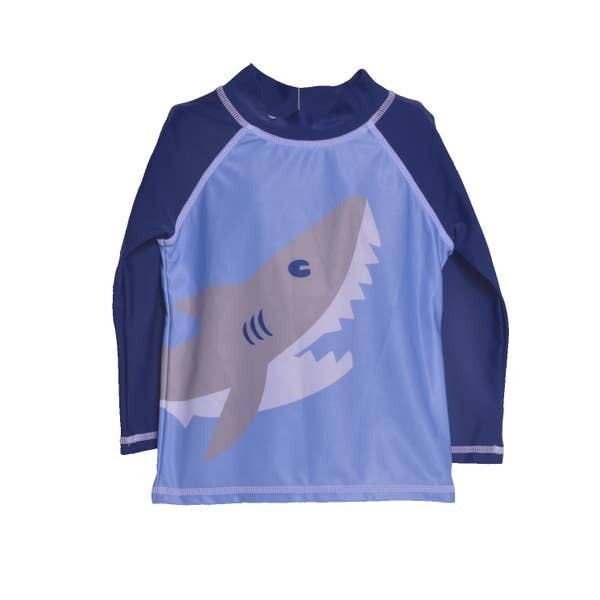Flap Happy Happy Shark L/S Rash