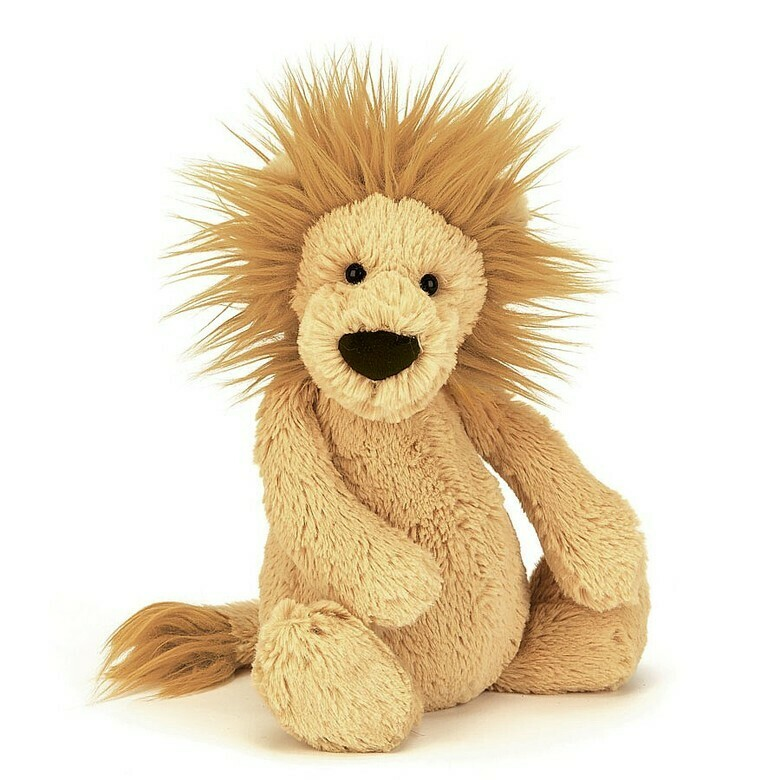 "JellyCat Bashful Lion Medium 12"""