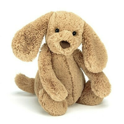 JellyCat Bashful Toffee Puppy Medium 12