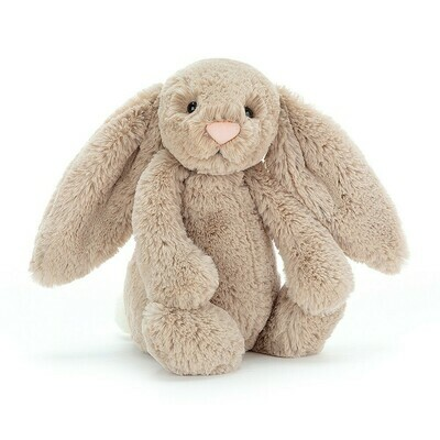JellyCat Bashful Beige Bunny Medium 12