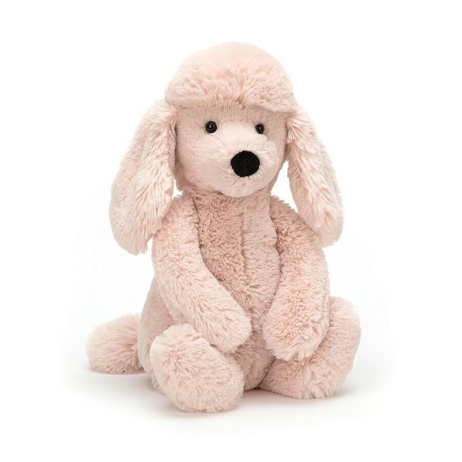 "JellyCat Bashful Blush Poodle Medium 12"""