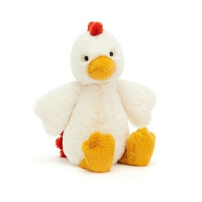 JellyCat Bashful Chicken Medium 12
