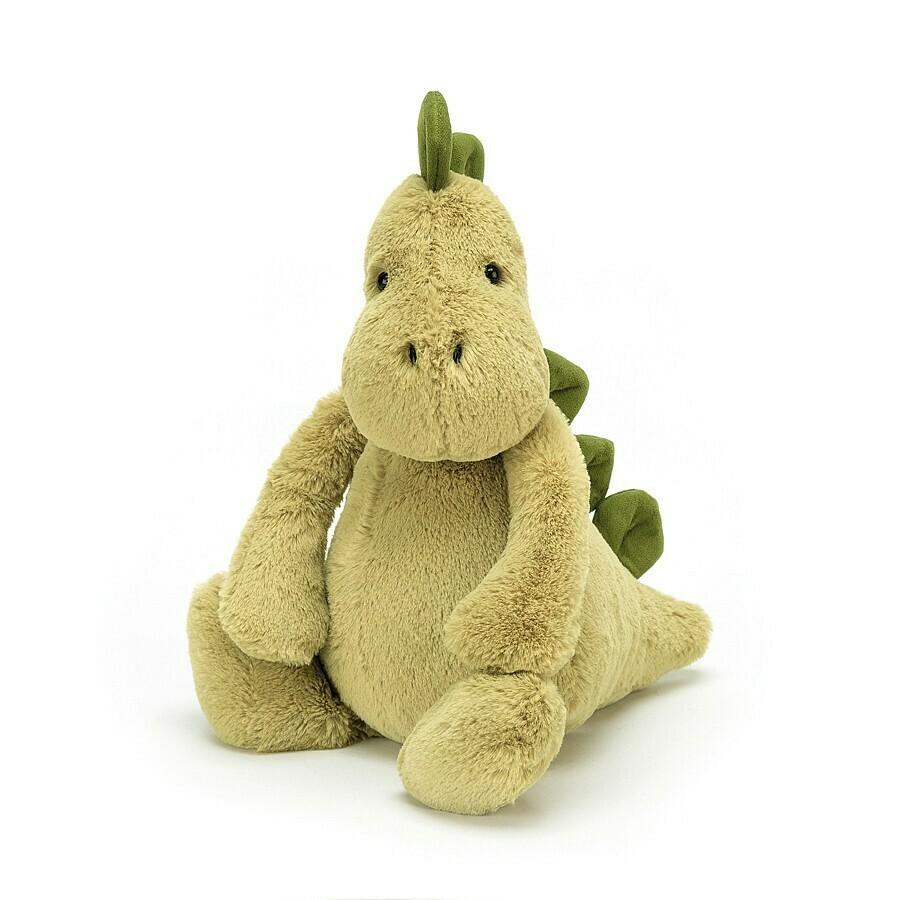 "Jellycat Bashful Dino Medium 12"""