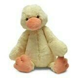 JellyCat Bashful Duck Medium 12