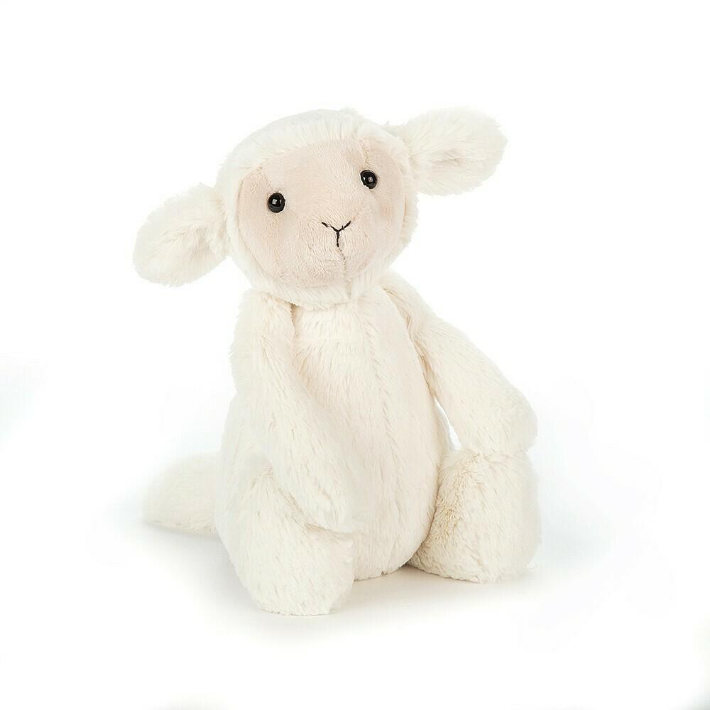 """JellyCat Bashful Lamb Medium 12"""""""