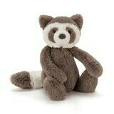 JellyCat Bashful Raccoon Medium 12
