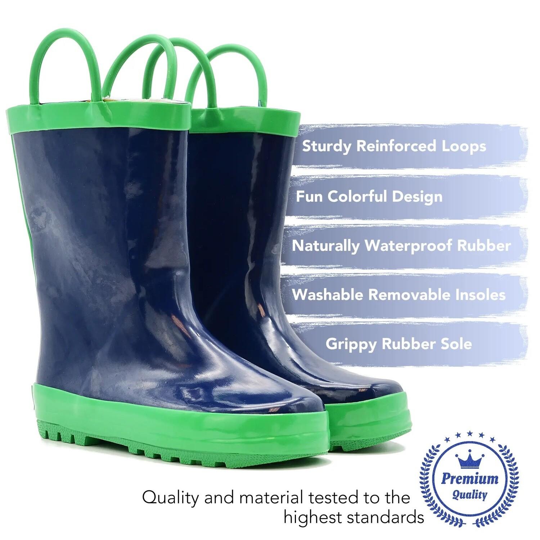 NVY/GRN BOOT Muckey Wear