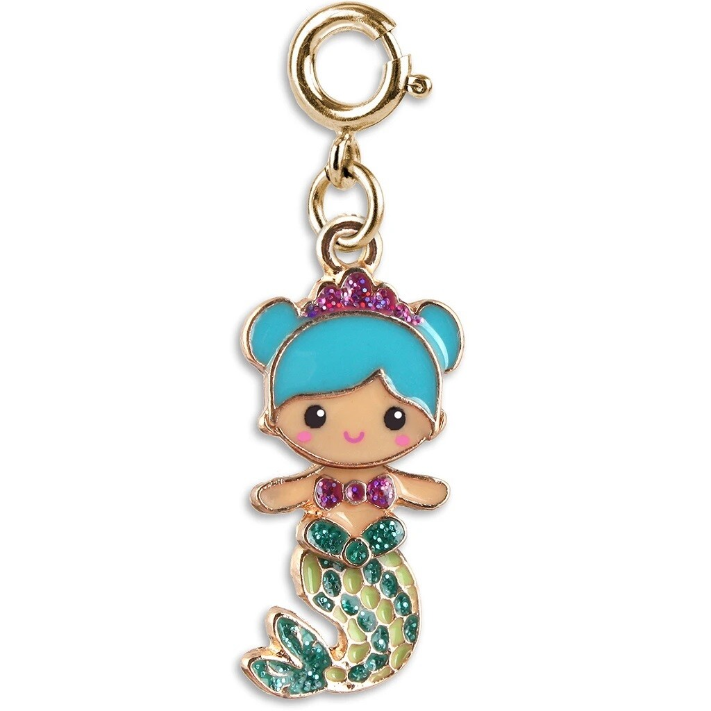 CICC1340 CHARM Gold Mermaid