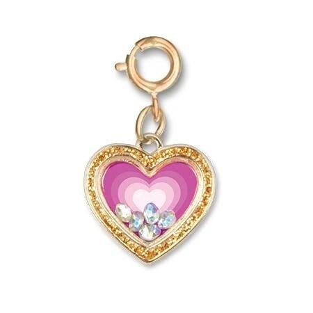 CICC1293 CHARM Gold Heart
