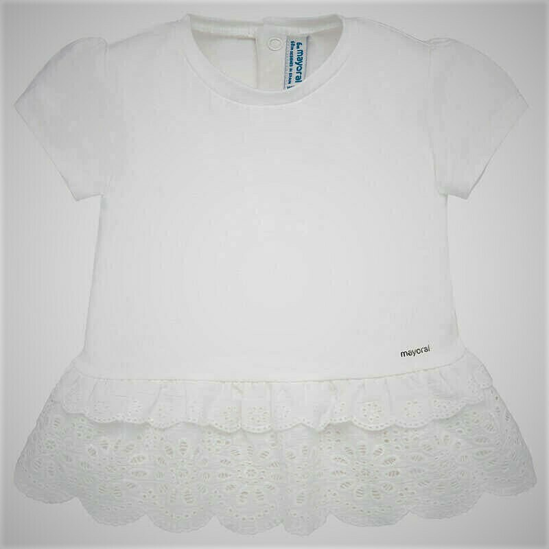 Mayoral Top White