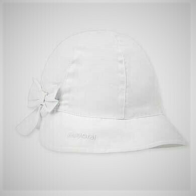 Mayoral Sun Hat White 10744