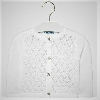 Mayoral Sweater White 1328