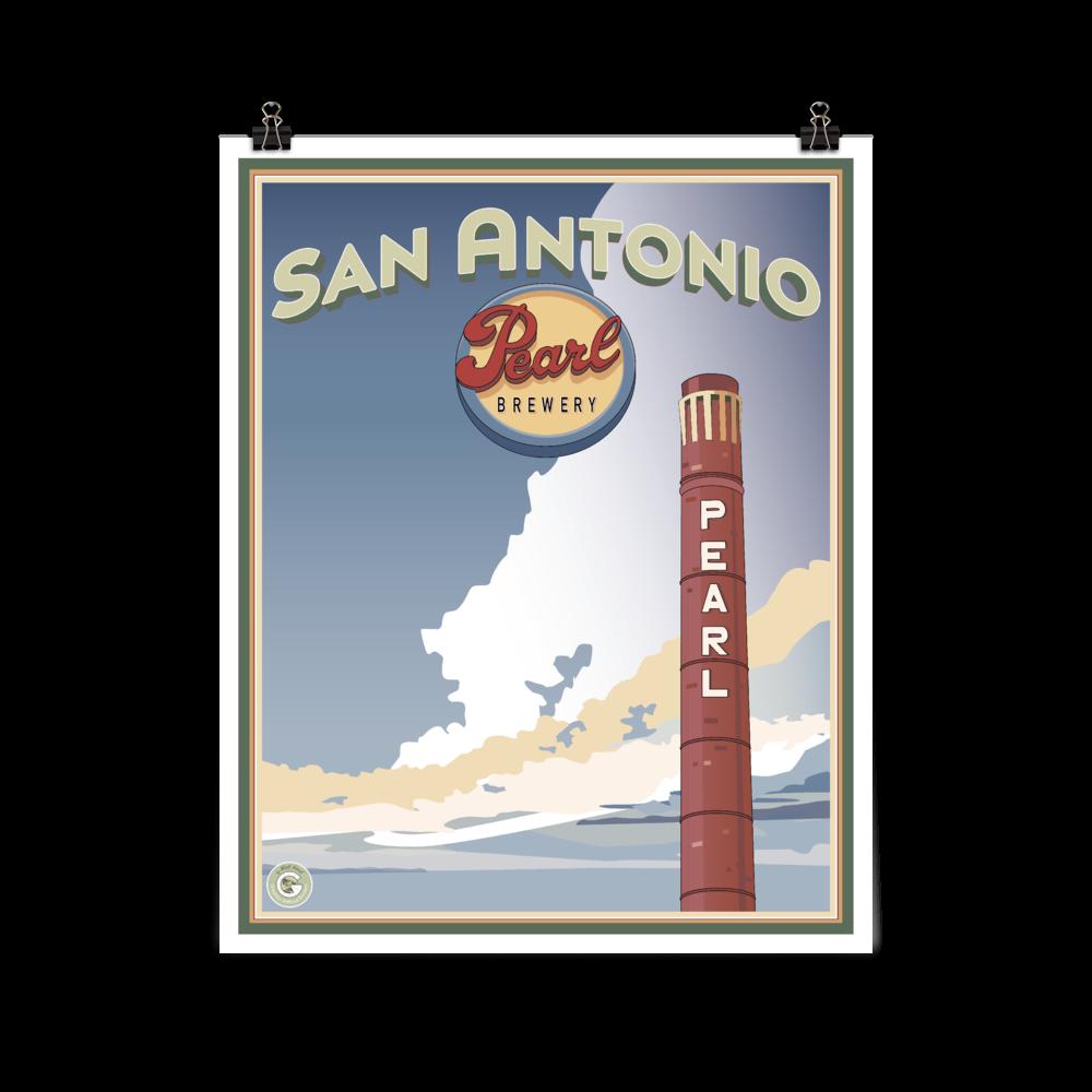 Pearl Brewery Smokestack