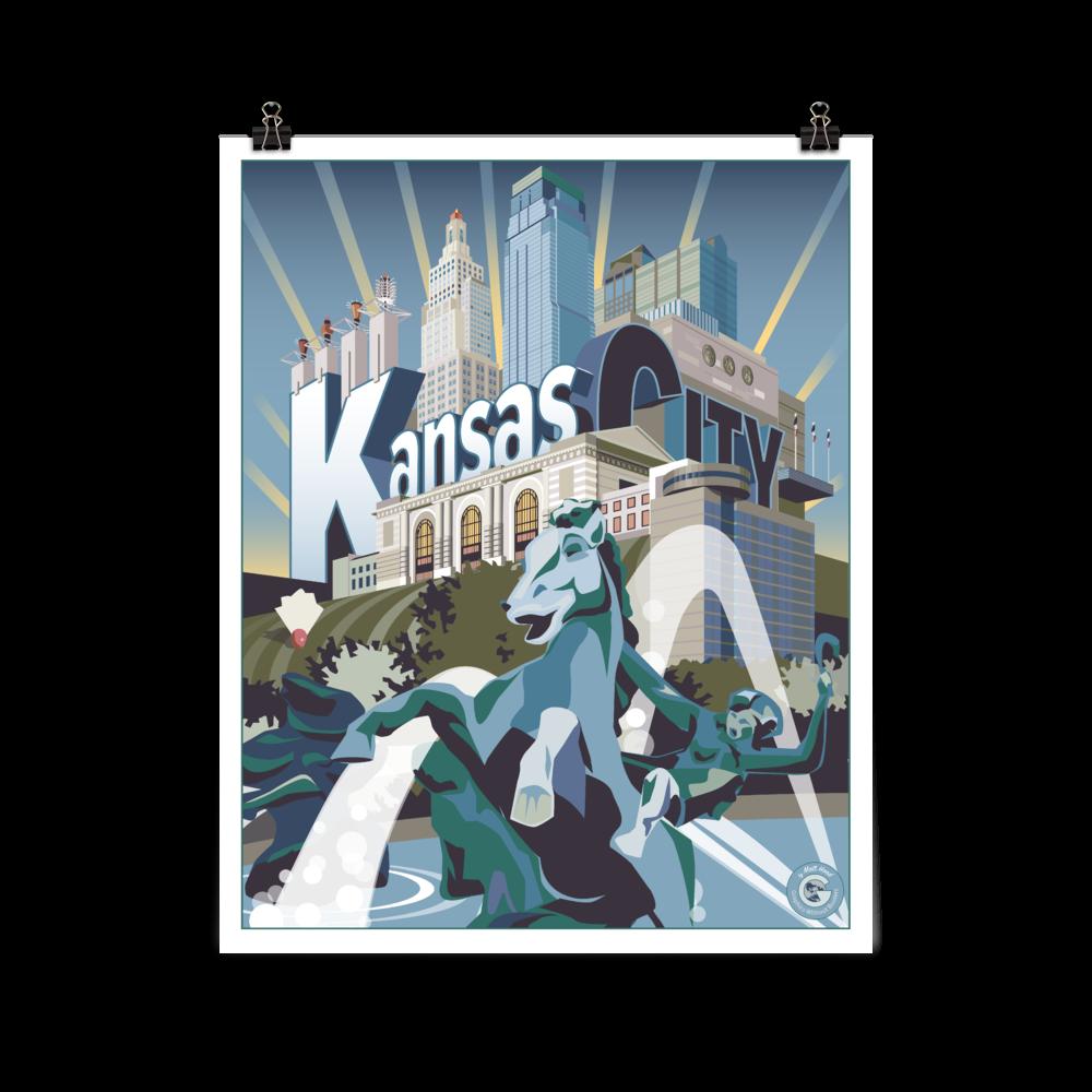Kansas City Poster