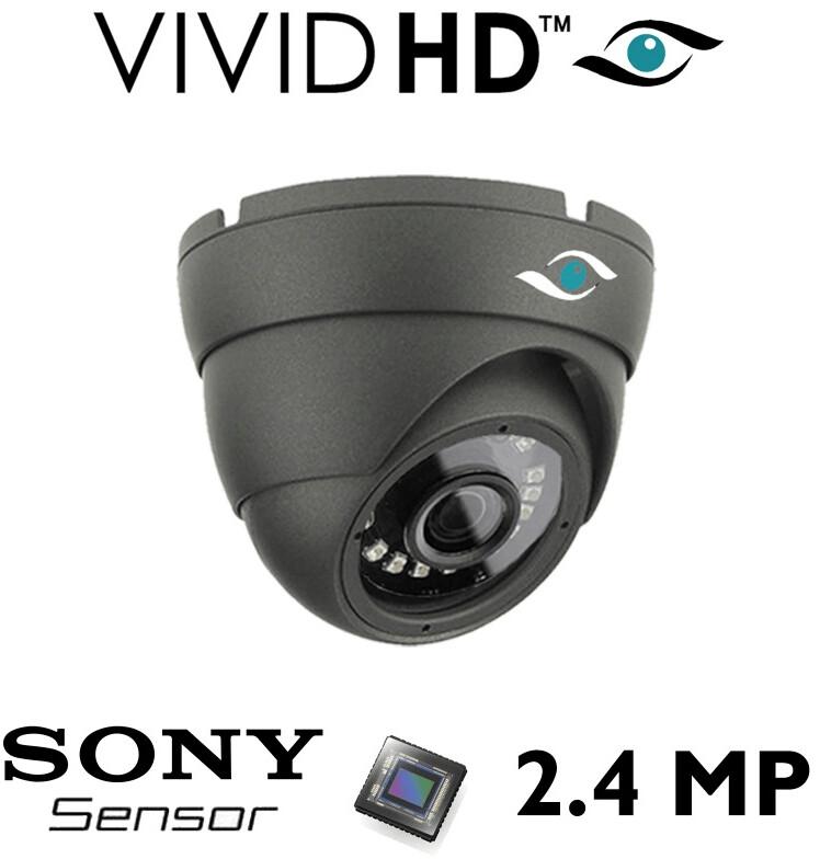 2.4MP CCTV BULLET CAMERA 4IN1 FULL HD 1080P OUTDOOR IR NIGHT VISION TVI AHD CVBS