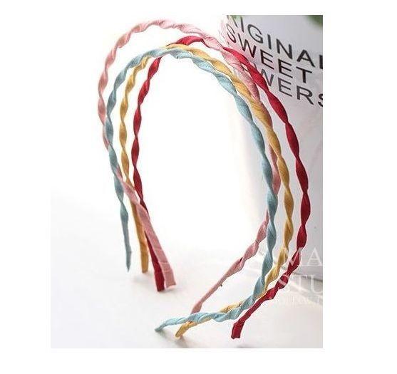 Chiffon swirl thin headband