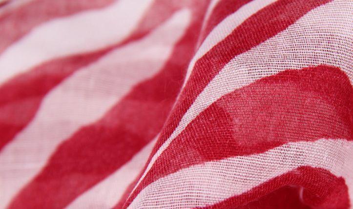 Zebra waves infinity scarf