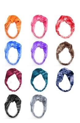 Tie-dye printing soft bandanna headbands