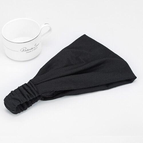 Double-layers cotton bandanna headband
