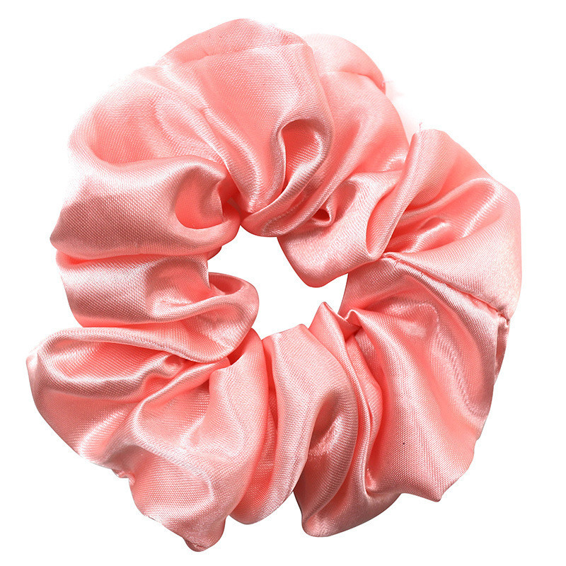 Gloss satin scrunchies