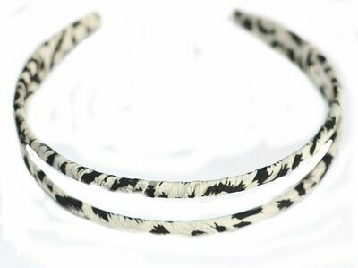 Chiffon double-loop headband