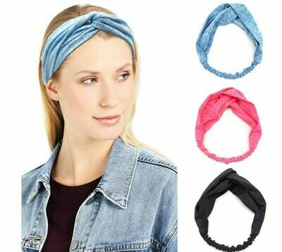 NEW cotton turban headband