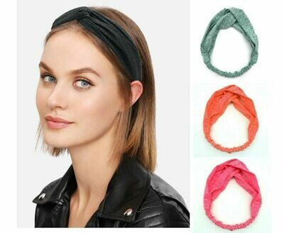 Twist-colour turban headband