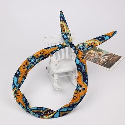Bohemian totem twist hair scarf