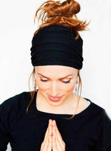 Multi-purpose stretchy head wrap