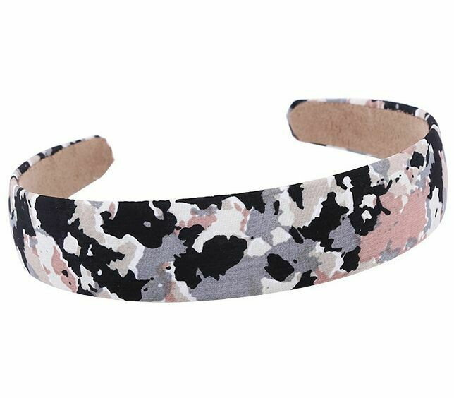 Camouflage printed headband