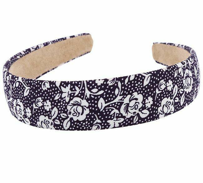 Leaves and Flowers printing headband