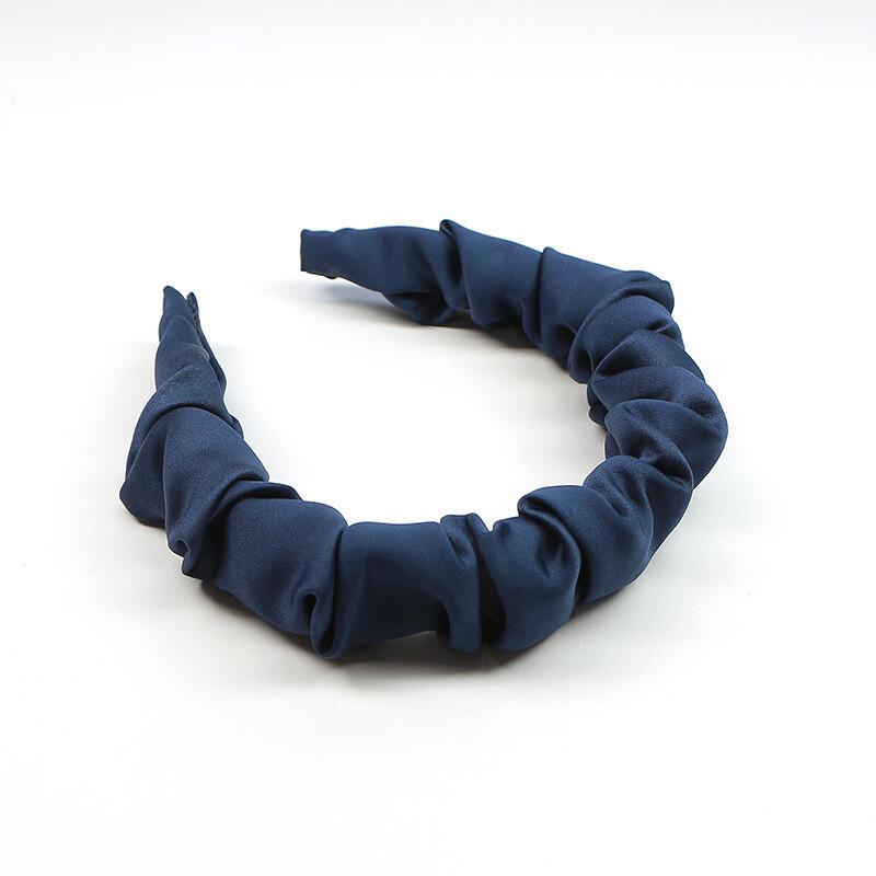 Folds satin headband