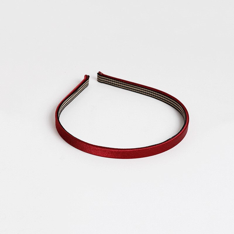 Plain slim headband