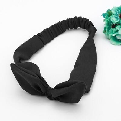 Chiffon bow-knot headband