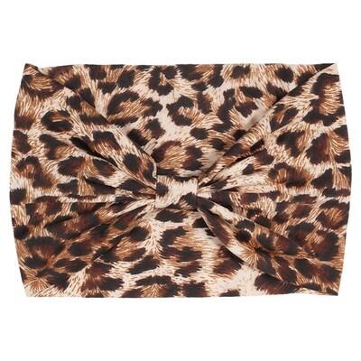 Leopard 2-way bandanna headband