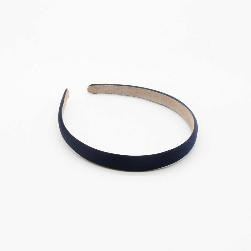 1.5cm matte satin headband