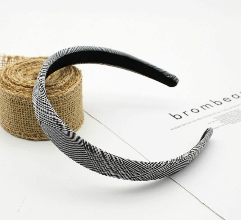 2cm Plaids headband