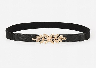 Golden leaves stretch belt