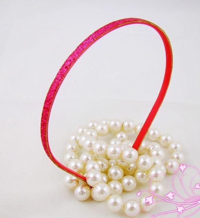Thin glitter headband 00009