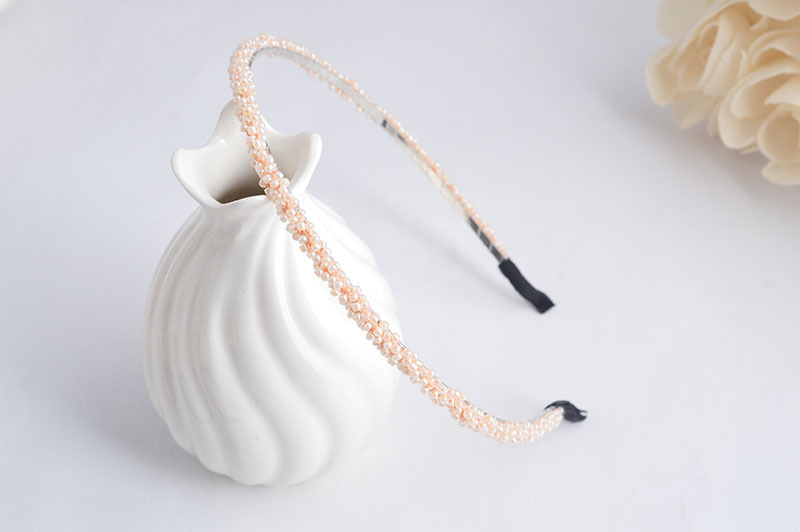 Thin pearly headband 00035