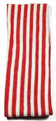 Knitted-wool striped stretch headband 00615