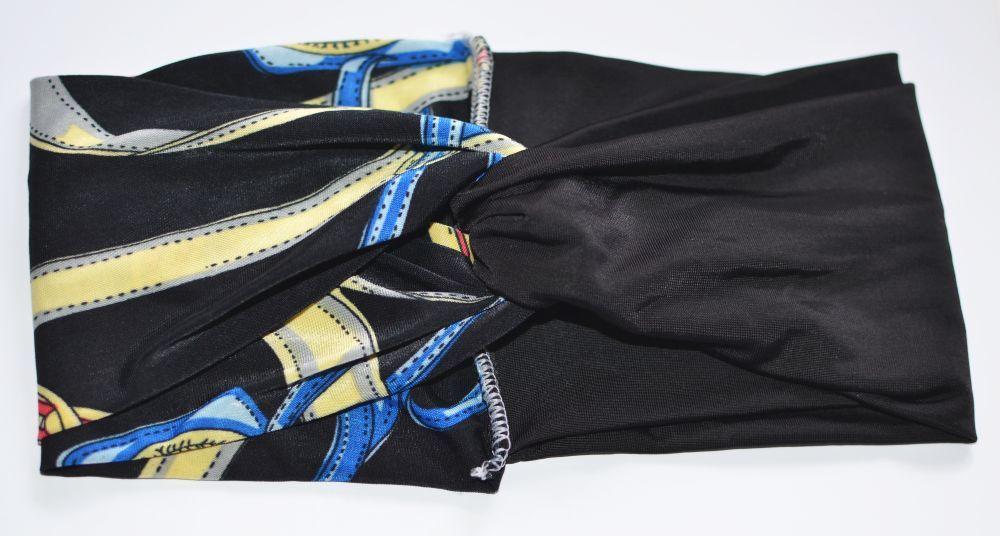 Mixed colour turban headband 00671