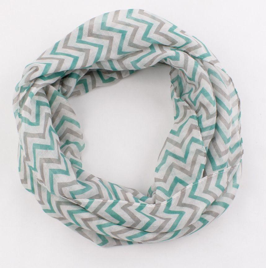 Beautiful waves infinity scarf 00815