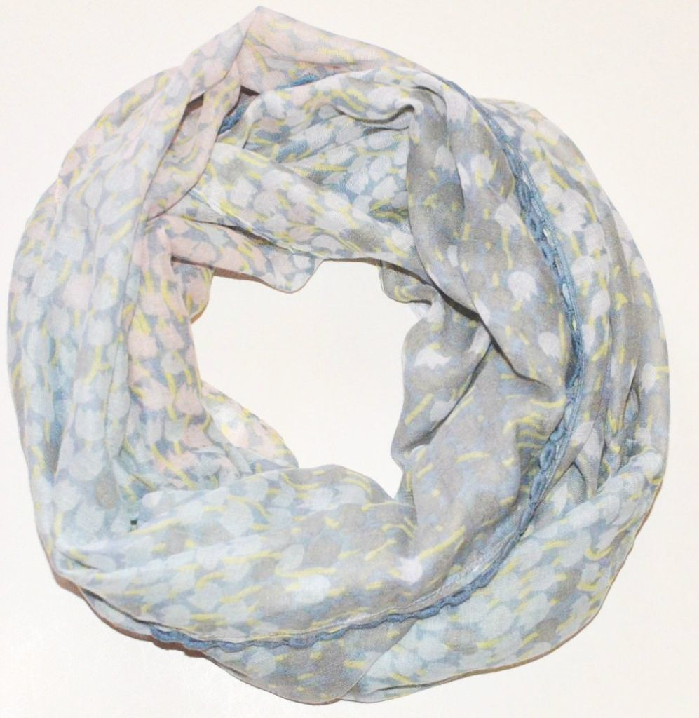 Tulips infinity scarf 00824