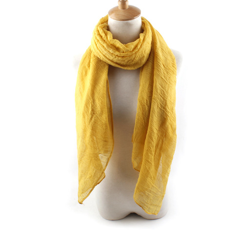 Solid colours long scarf