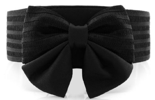 Butterfly bow stretch belt