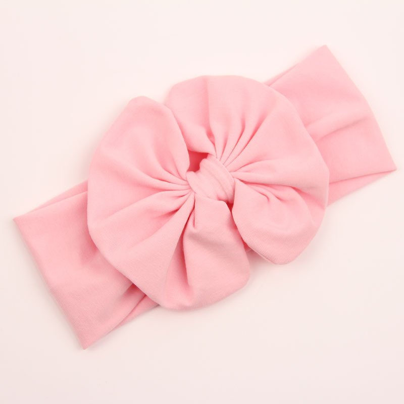 Cotton large bow headband