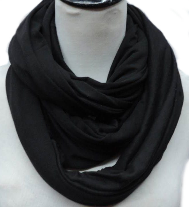 Large jersey infinity scarf 01204