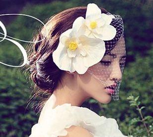 Double flowers + veil