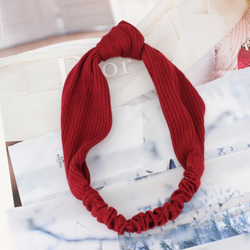Knot stretch headband 01247